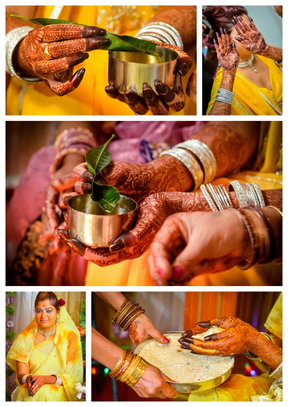 """The Haldi Ceremony"" in Hindu Wedding- Mauritius"