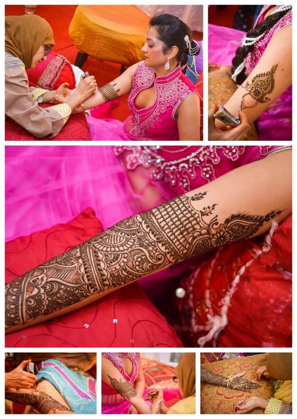 The Mehendi Ceremony- Hindu Wedding Photography- Mauritius