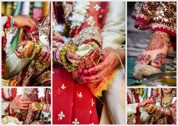 Indian Wedding in Mauritius- The Hand, Gestures and Rituals