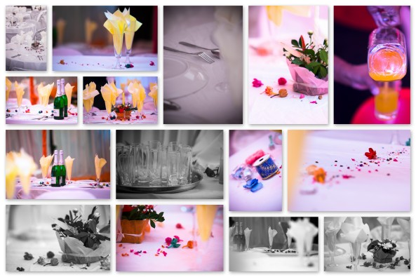 Wedding Reception- Tables & Decors