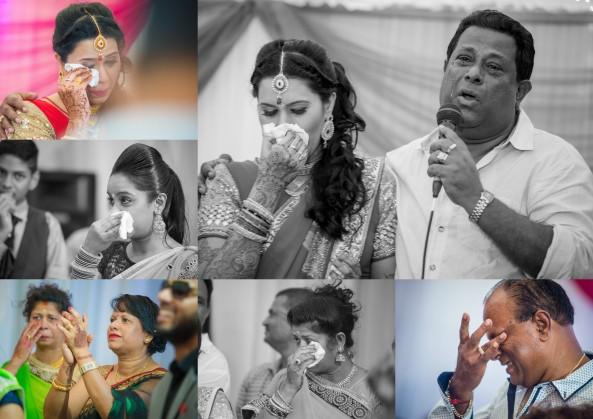 Saddest moment of a wedding- Mauritius Wedding Photo- Indian- Hindu- Crying